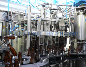 Glass Bottle Beer Filling Line