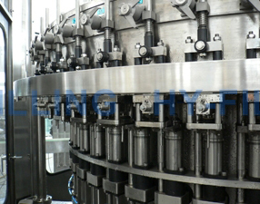 PET Gas Filling Machine